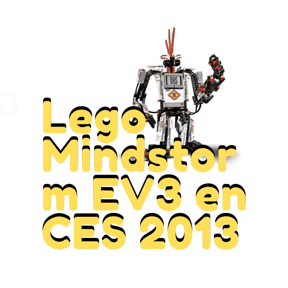 Lego Mindstorm EV3 en CES 2013