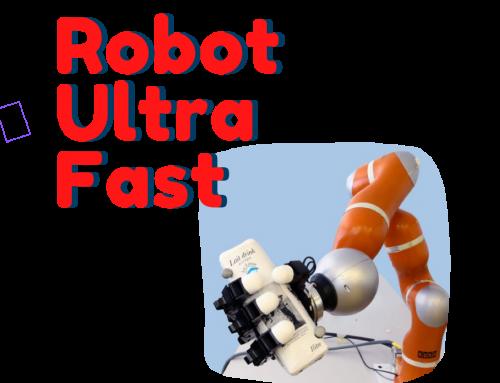 Ultra Fast un robot que atrapa objetos al vuelo