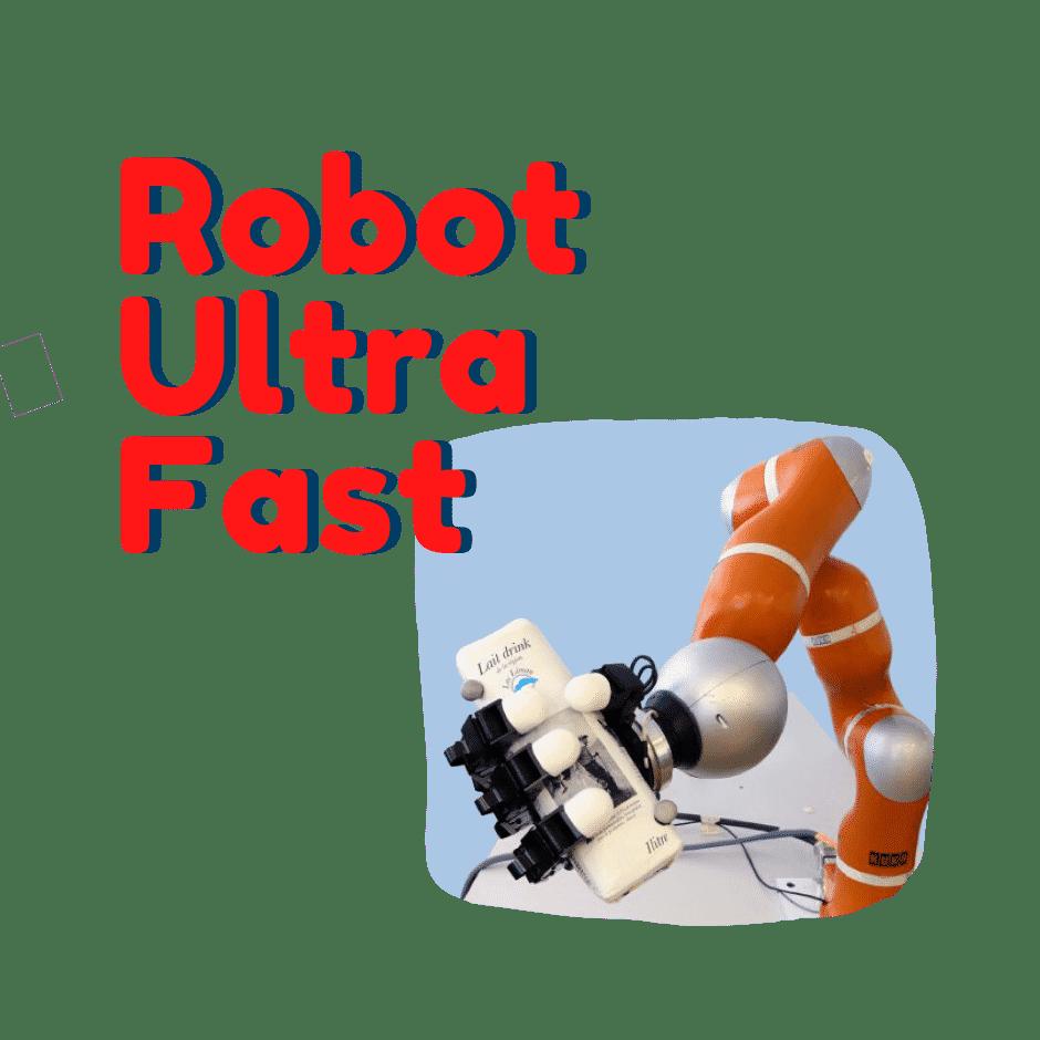 Ultra-Fast Un robot que atrapa objetos al vuelo
