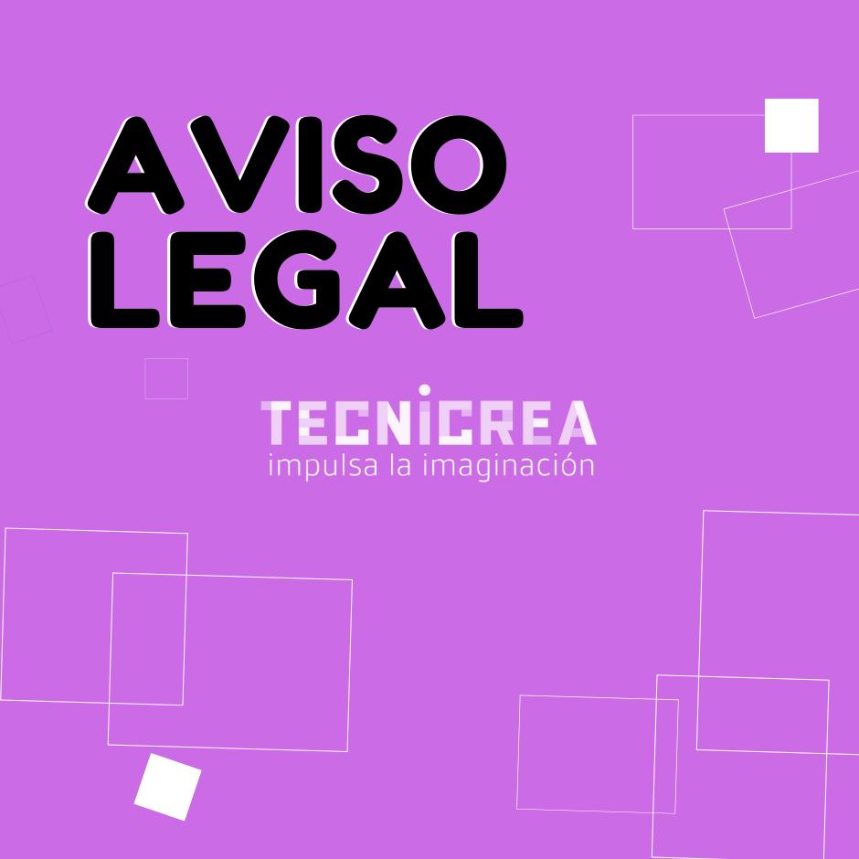 Aviso Legal Web Tecnicrea